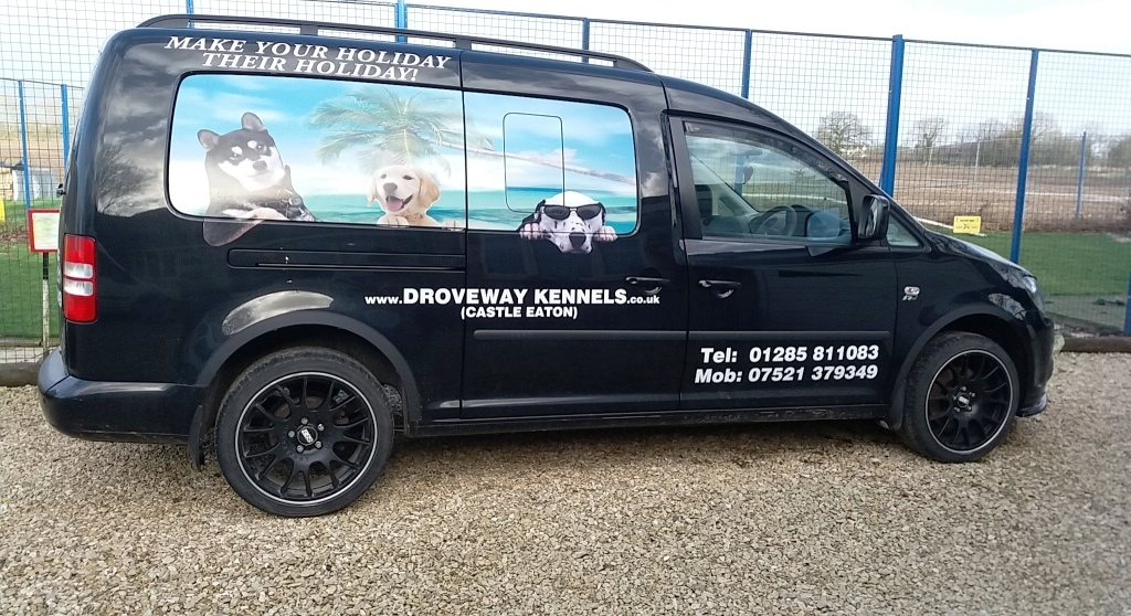 Droveway Kennels very distinct taxi can take away the worry off dropping off your pampered pooch